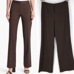 Lafayette 148 brown chocolate trouser slacks